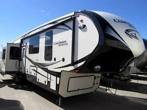 2016 40 FT COACHMEN BROOKSTONE 395 RL 5TH WHEEL