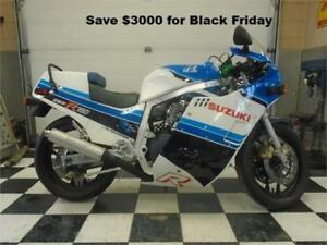 1985 Suzuki GSXR750 - The Original Sport Bike-Black Friday deal!