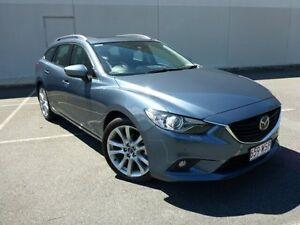 2013 Mazda 6 GJ1031 Atenza SKYACTIV-Drive Blue 6 Speed Sports Automatic Wagon Westcourt Cairns City Preview