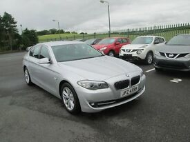 2012 BMW 520D SE AUTOMATIC ONLY 35K SILVER