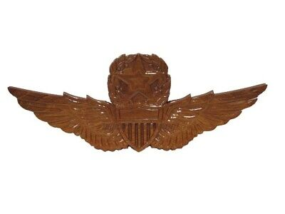Army Master Aviator Aviation Pilot Helicopter Wings Wood Wooden Plaque 2nd FLAW Aviation Pilot Wings