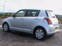 SUZUKI SWIFT 1.3 GL 5 DR SILVER,1 YRS MOT,NEW DISCS/PADS FITTED,CLICK ON VIDEO LINK TO SEE CAR