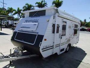 MAJESTIC KNIGHT SINGLE AXLE POP TOP CARAVAN WITH AIR CON 2006 Clontarf Redcliffe Area Preview