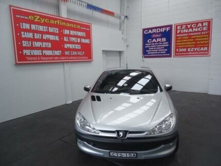 2002 Peugeot 206 CC Silver 4 Speed Automatic Cabriolet