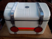 MOTORCYCLE TOP BOX / HELMET BOX BY CRAVEN EQUIPMENT, QUALITY VINTAGE ACCESORY
