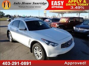 2010 Infiniti FX35 LEATHER NAVI BCAM