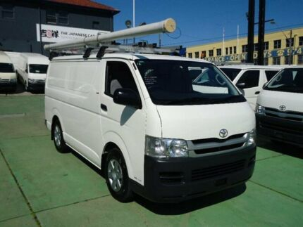 2010 Toyota Hiace KDH201R MY11 Upgrade LWB White 5 Speed Manual Van Canada Bay Canada Bay Area Preview