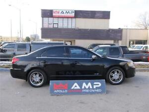 2007 Lincoln MKZ AWD 3.5L RIMS CHROME LEATHER LOW MILES!