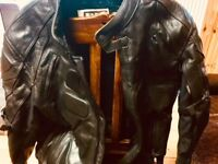 MAX MPH CRUISER LEATHER Jacket and Trousers Set - CE ARMOUR