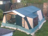 CABANON 6 berth canvas frame tent