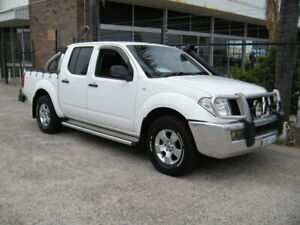 2008 Nissan Navara D40 ST-X (4x4) White 6 Speed Manual Dual Cab Pick-up Wangara Wanneroo Area Preview