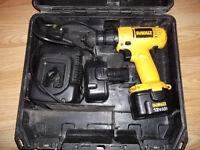 DEWALT 12 volt cordless drill