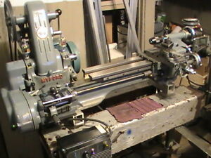 tour a metal lathe myford