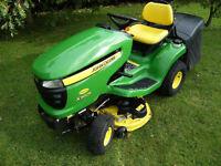 John Deere X300R Lawn Tractor / Ride on Mower