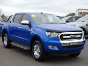 2017 Ford Ranger PX MkII XLT Double Cab 4x2 Hi-Rider Blue 6 Speed Sports Automatic Utility Albion Park Rail Shellharbour Area Preview