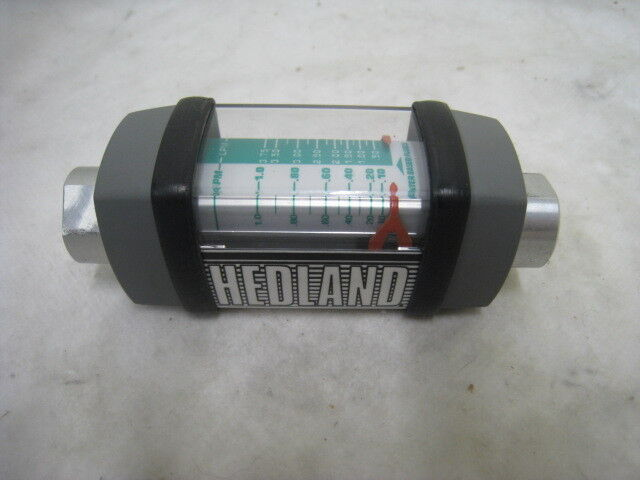 Hedland H213a-010 Flow Meter, 0- 1.0 Gpm, Amat Flow Meter, 408821