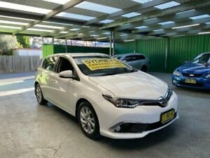 2016 Toyota Corolla ZRE182R Ascent Sport S-CVT White 7 Speed Constant Variable Hatchback Croydon Burwood Area Preview