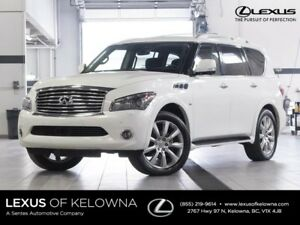 2014 Infiniti QX80 Technology - 7 Passenger w/Rear DVD