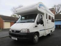 2005 LUNAR NEWSTAR 4 BERTH, REAR LOUNGE VERY LOW MILEAGE MOTORHOME FOR SALE