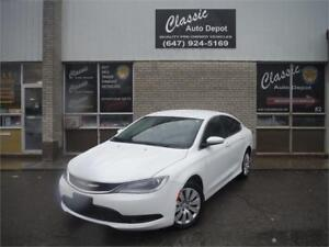 2015 CHRYSLER 200 LX **LOW KM** PRICED TO SELL**4 CLYINDER**