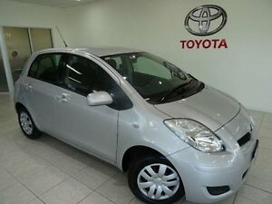 2010 Toyota Yaris NCP90R 08 Upgrade YR Silver 5 Speed Manual Hatchback Westcourt Cairns City Preview