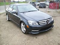 2011 Mercedes-Benz C-Class C300 4MATIC / AWD / LEATHER / SUNROOF