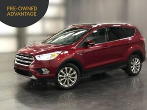 2017 Ford Escape Titanium 4WD, Leather, Nav, Sunroof