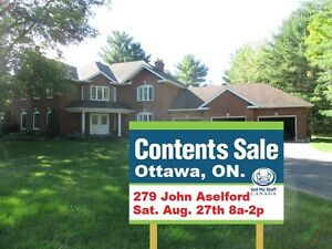 COLOSSAL KANATA NORTH CONTENT SALE SATURDAY!