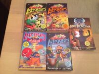 5 X Astrosaurs Story/Adventure Books with Trading Cards