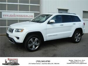 2015 Jeep Grand Cherokee Limited|Navigation|Sunroof|Remote Start