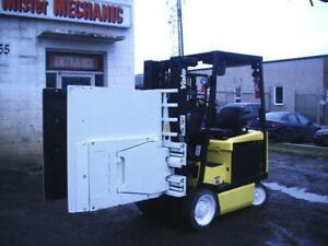 5000lb Cap. Electric Forklift and Carton Clamp