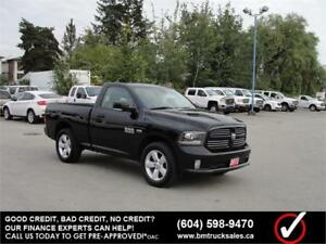 2013 DODGE RAM 1500 SPORT REGULAR CAB SHORT BOX 4X4 LEATHER HEMI