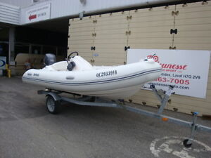 2011 Brig 12' inflatable rib center console dingy 50 hp