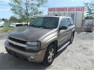 2003 CHEVROLET TRAILBLAZER LT - 4X4 - POWER OPTIONS - ALLOY RIMS