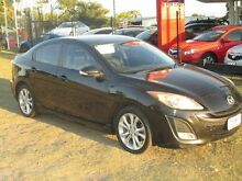 2009 Mazda 3 BL10L1 SP25 Black 6 Speed Manual Hatchback Kippa-ring Redcliffe Area Preview