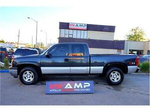2005 Chevrolet Silverado 1500 LT 4x4 5.3L SHORT BOX LOW KMS!