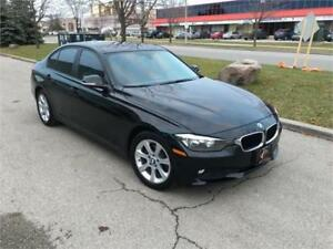 2014 BMW 320i NAVI xDRIVE BLUTOOTH HEATED BLK ON BLK LEATHER