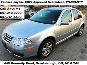 2008 Volkswagen Jetta City FINANCE APPROVED 3-YEARS WARRANTY