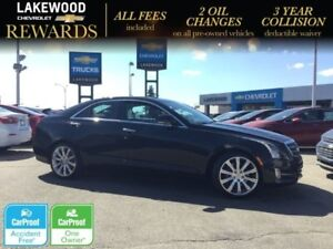 2014 Cadillac ATS Premium AWD (Heated Leather, Nav, Sunroof)