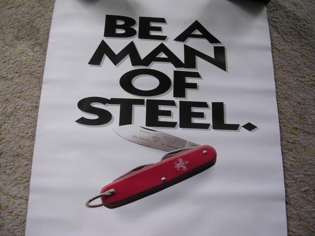 """Be a Man of Steel"" Boy Scouts of America 2"