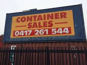 20 Foot Used Shipping Containers Ballarat Central Ballarat City Preview