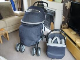 Mothercare Pushchair/Stroller with Baby Car Seat set, have a look
