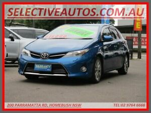 2014 Toyota Corolla ZRE182R Levin ZR Blue 7 Speed CVT Auto Sequential Hatchback Homebush Strathfield Area Preview