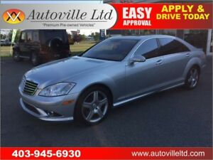 2007 MERCEDES S550 4MATIC AWD NAVIGATION BACKUP CAMERA MASSAGE