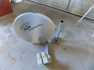 bell dish and mounting bracket