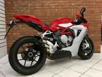 2015/15 MV Agusta F3 800 EAS With Just 1598 Miles Finished In Red and Silver