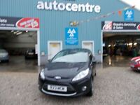 FORD FIESTA 1.2 ZETEC 3d 81 BHP COMES WITH WARRANTY PACKAGE (black) 2010