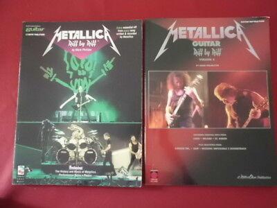 Metallica - Riff by Riff 1 & 2 . Songbooks Notenbücher Vocal Guitar