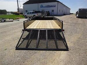 2017 Load Trail Single Axle Solid Side Utility SS Model!! London Ontario image 9