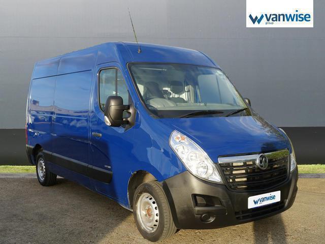 2013 Vauxhall Movano 2.3 CDTI H2 Van 100ps Diesel blue Manual